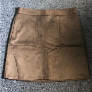 The Limited Light Brown Women's Valore Mini Skirt